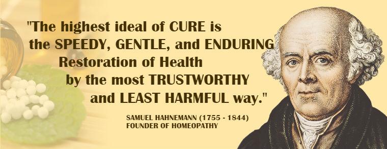 Samuel Hahnemann quote